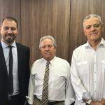 Rodrigo Pironti, Nestor Baptista e Edgar Guimarães
