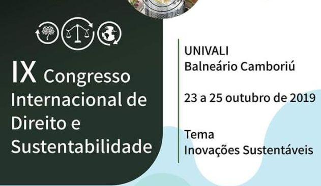 IPDA marca presença no IX Congresso Internacional de Direito e Sustentabilidade